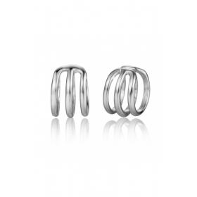 Neo Piercing Triple Silver