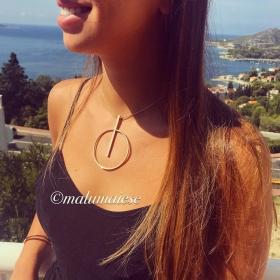 Collar Gio G Gold